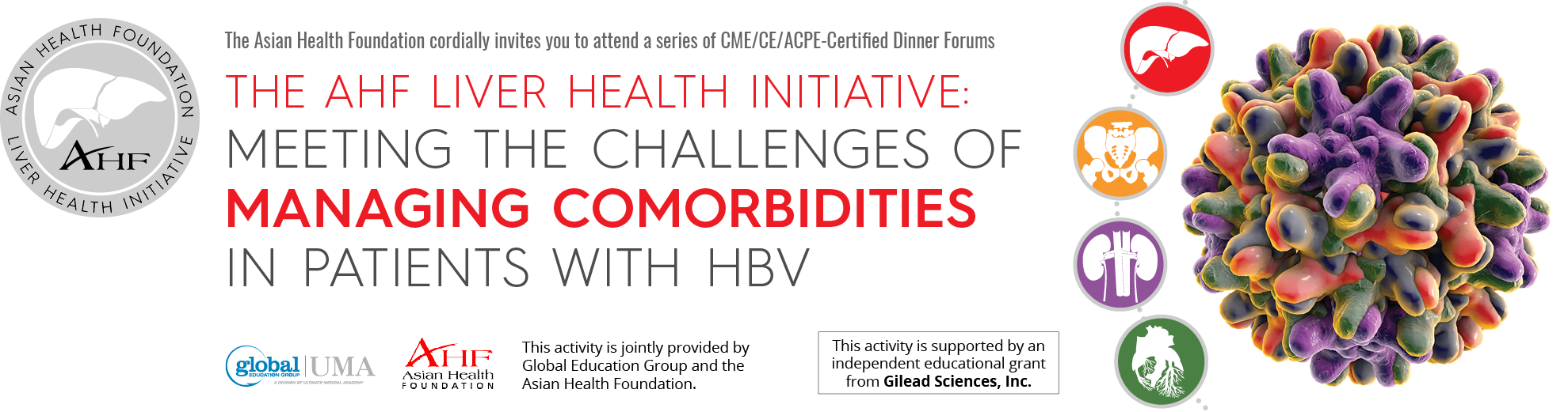 The AHF Liver Health Initiative: Meeting the Challenges of Managing Comorbidities In Patients With HBV