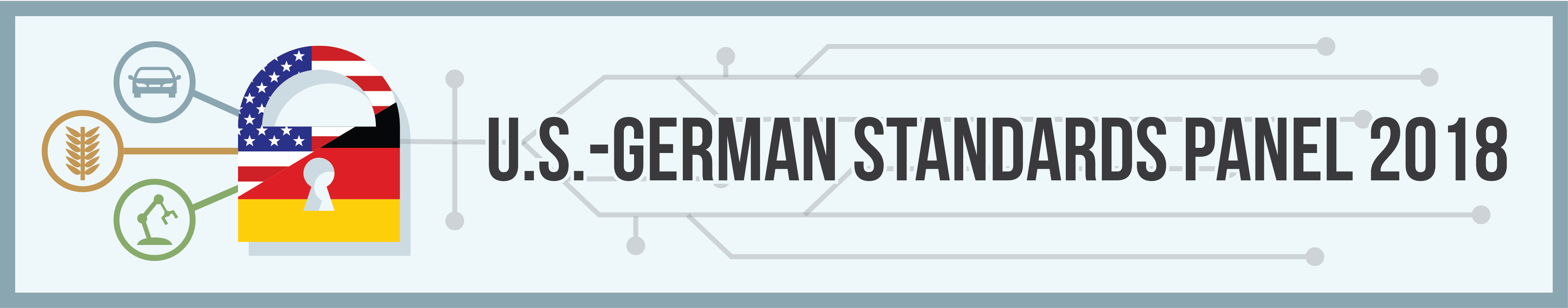 U.S.-German Standards Panel 2018, Securing Future Technologies - Cybersecurity and other Challenges and solutions for Smart Manufacturing, Mobility, and Agriculture