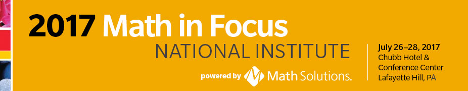 2017 Math In Focus National Institute