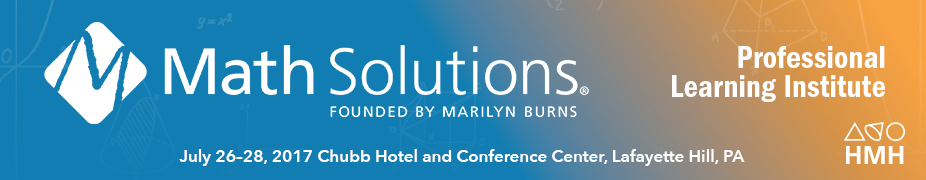 2017 Math Solutions National Institute