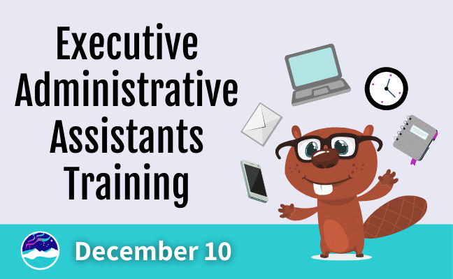 AASB 2020 Executive Administrative Assistants Virtual Training