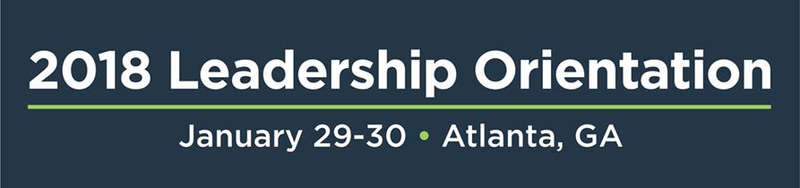 2018 Owners Association Leadership Orientation