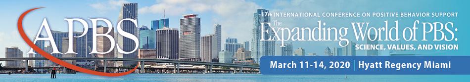17th International Conference on Positive Behavior Support
