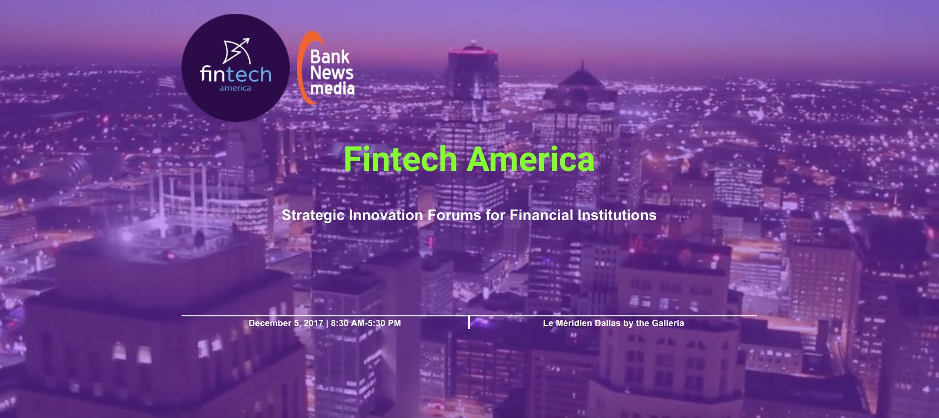 Fintech America Dallas
