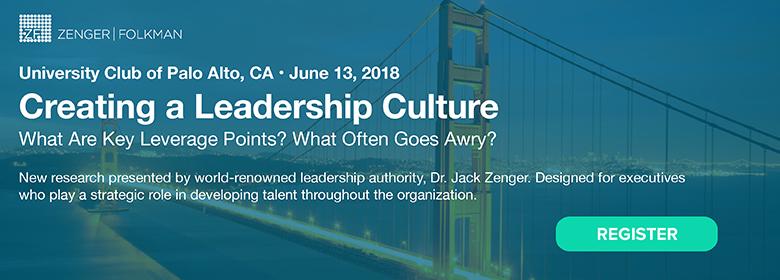 The Extraordinary Leader Forum, June 13, 2018, Palo Alto, CA