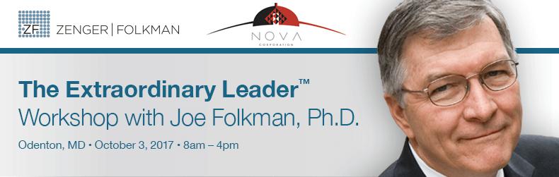The Extraordinary Leader™ Workshop, October 3rd, 2017- NOVA