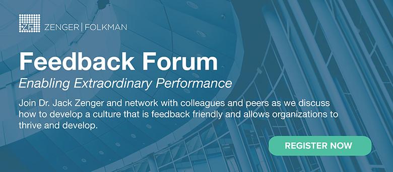 FEEDBACK FORUM—Enabling Extraordinary Performance! September 27, 2018, Alexandria, VA