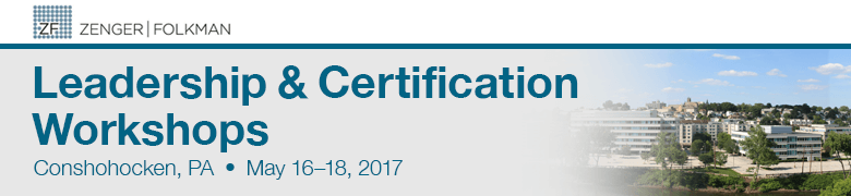 Zenger Folkman Leadership Development & Certification Workshops, Conshohocken, PA, May 16 - 18, 2017