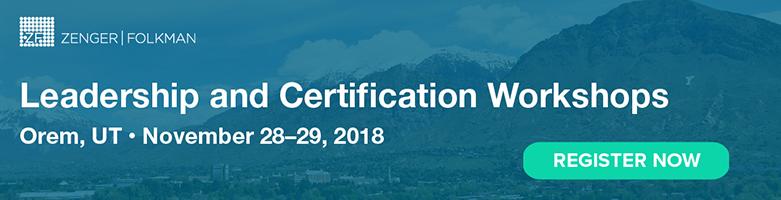 The Extraordinary Leader Workshop & Certification, November 28-29, 2018, Orem, UT