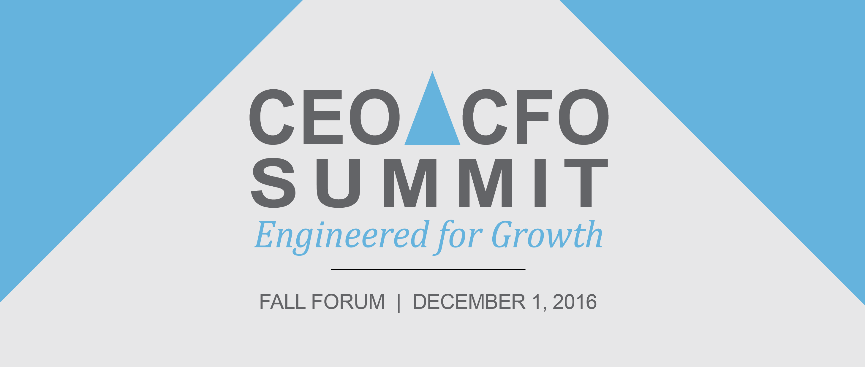 1073 -- CEO CFO Summit - FALL Forum 2016_Dec