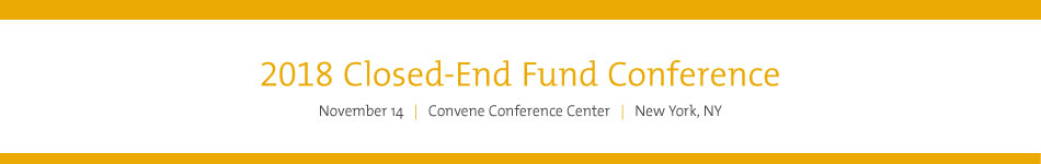 2018 Closed-End Fund Conference Sponsorship
