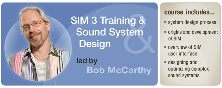 Sound Systems: Design & Optimization with Bob McCarthy