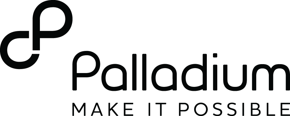 Palladium Logo - Black Text-transparent PNG
