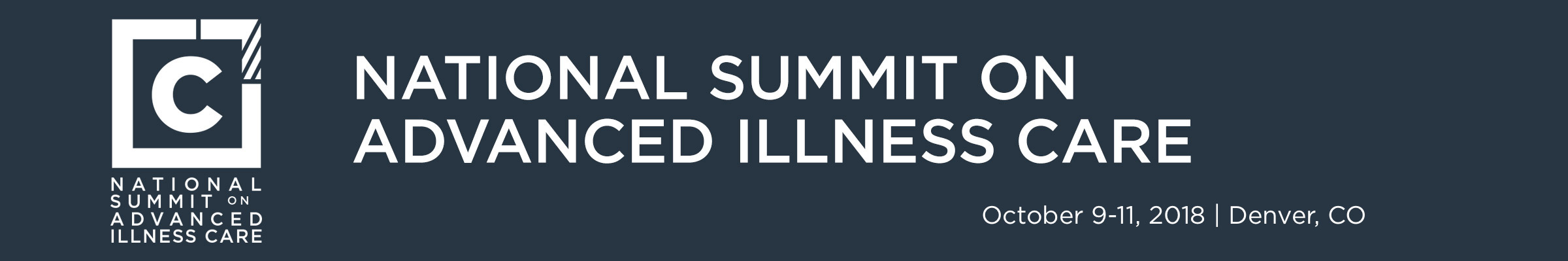 2018 National Summit on Advanced Illness Care