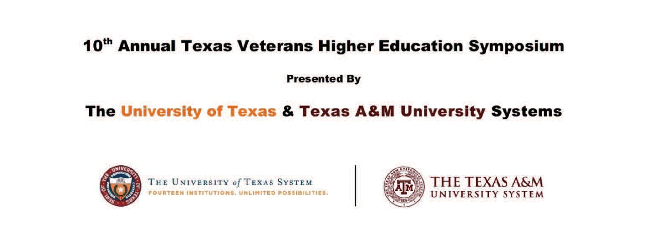 10th Annual Texas Veterans Higher Education Symposium