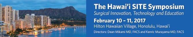Hawaii SITE Symposium 2017