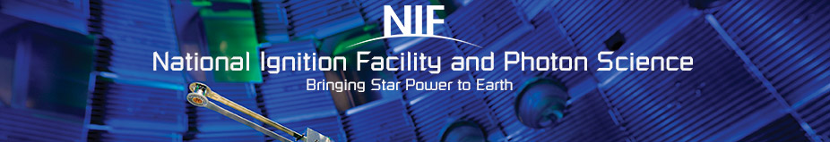 NIF and JLF User Group 2018