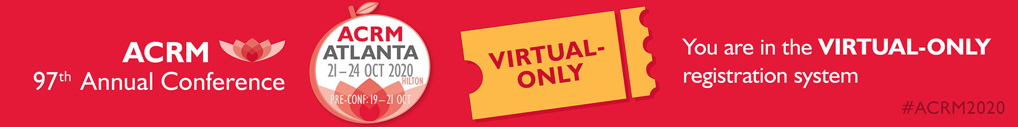 2020 ACRM Virtual Annual Conference