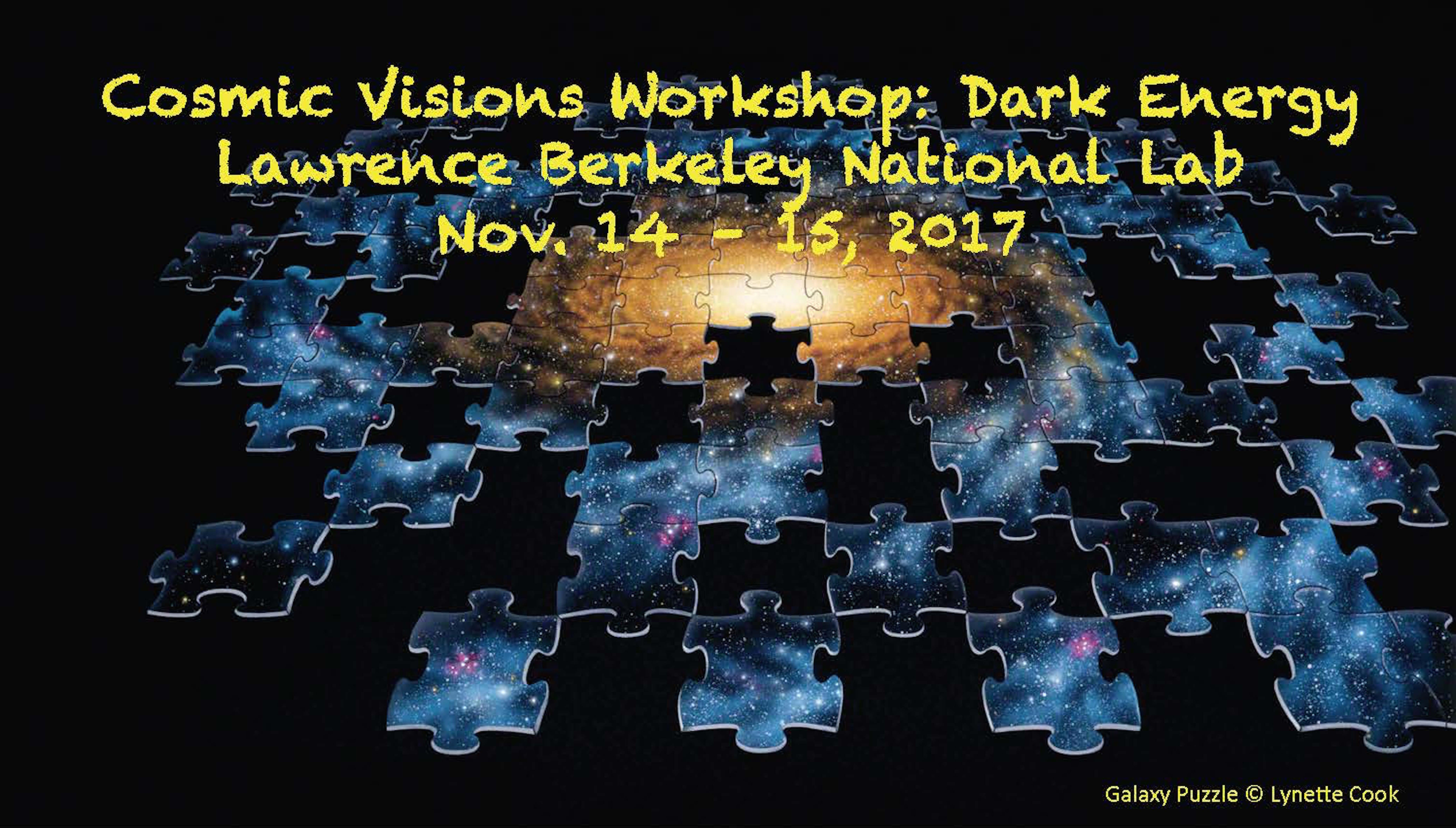 Cosmic Visions Dark Energy Workshop