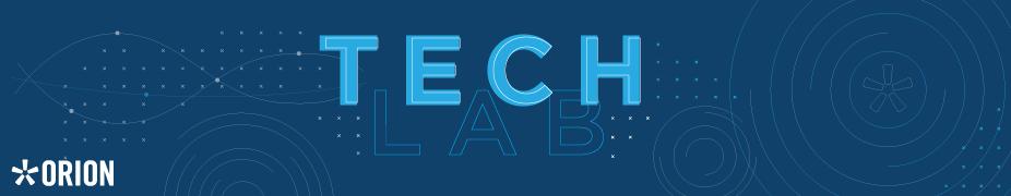 Orion New User Tech Lab - Dec 2017