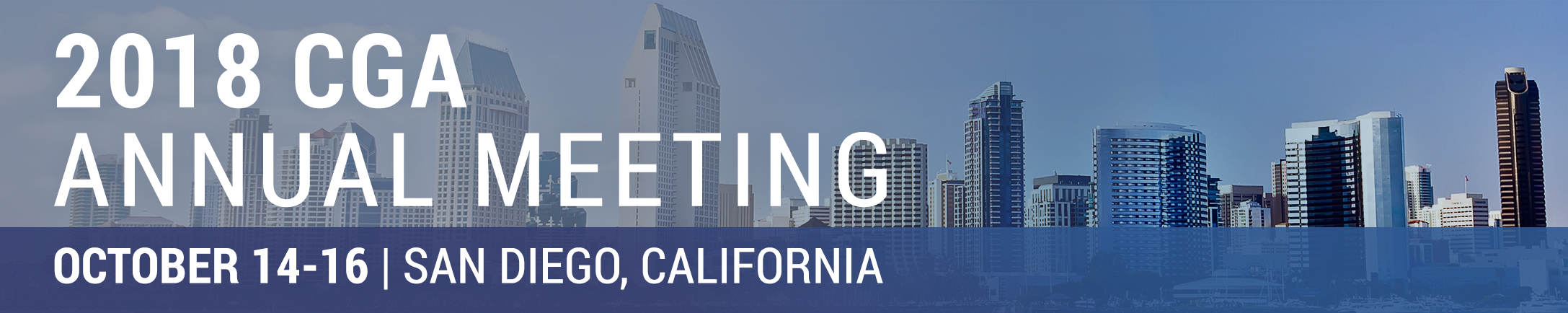 2018 CGA Annual Meeting