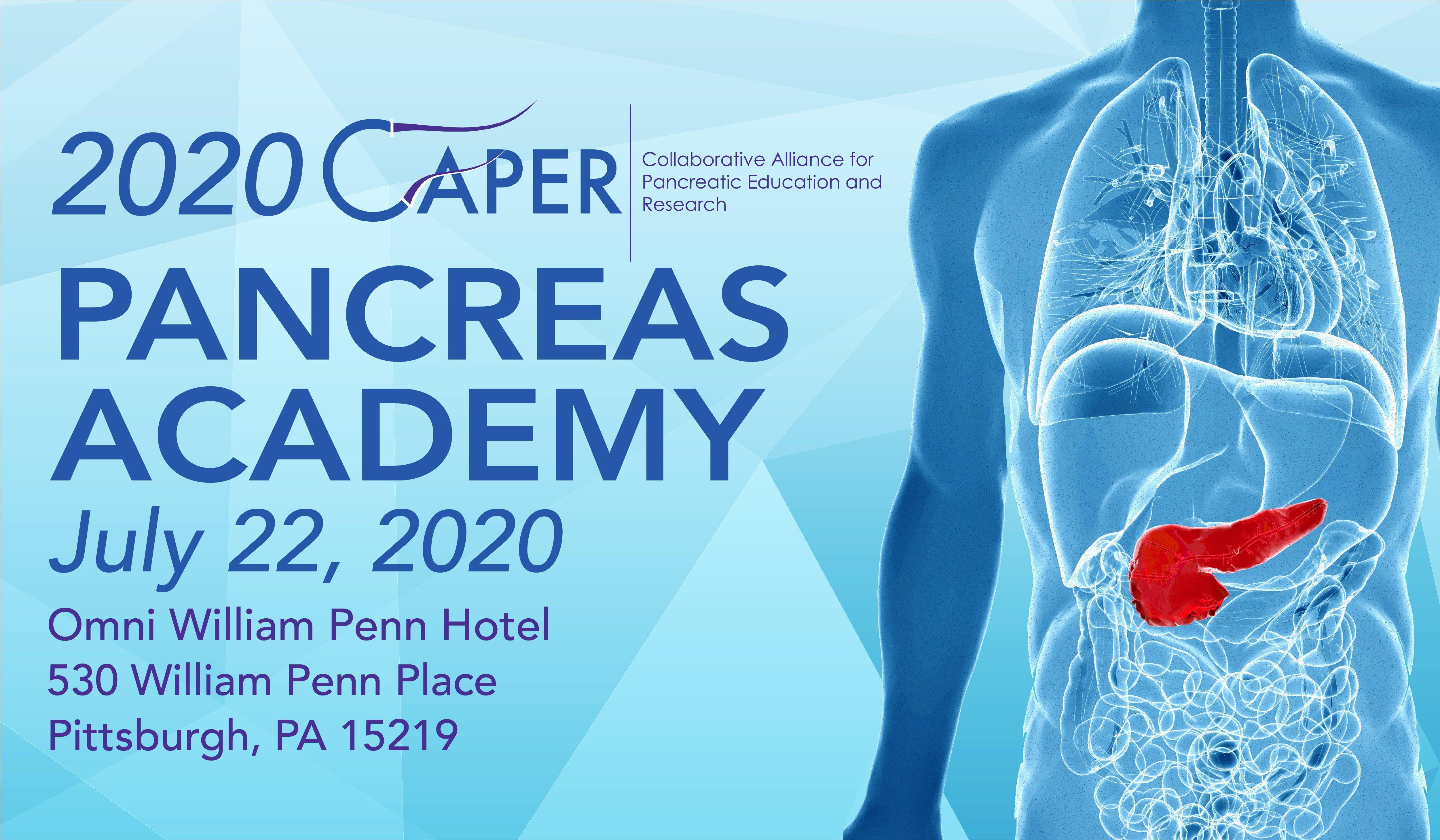 2020 CAPER Pancreas Academy