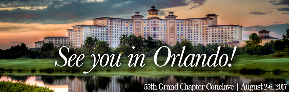 55th Grand Chapter Conclave - Orlando, Florida