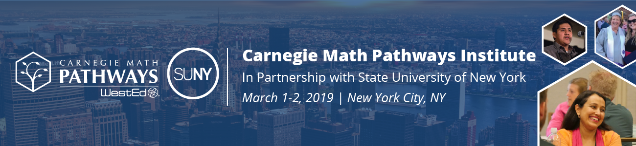 Carnegie Math Pathways Institute in Partnership with State University of New York