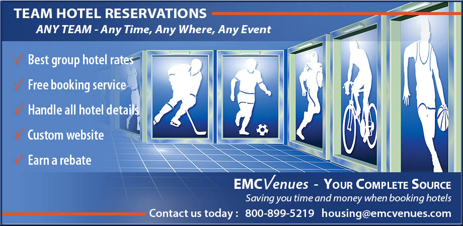 EMCVenues - Your Complete Source for Team Hotel Reservations