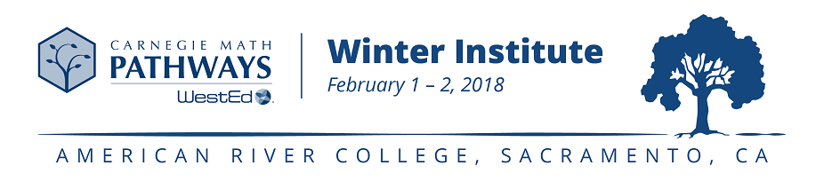 2018 Carnegie Math Pathways Winter Institute