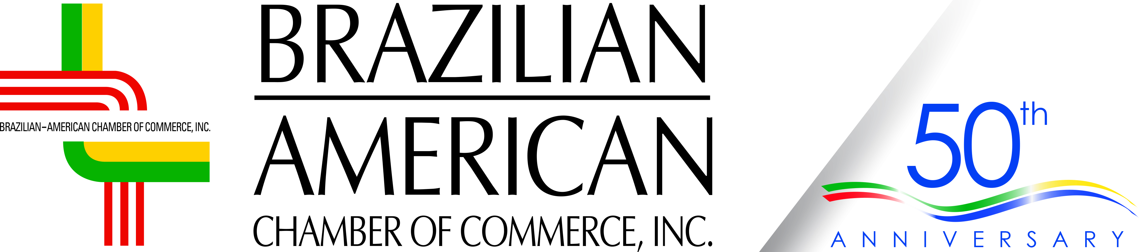 Brazilian-American Chamber of Commerce Logo with 50th Ann_ PIF 2019