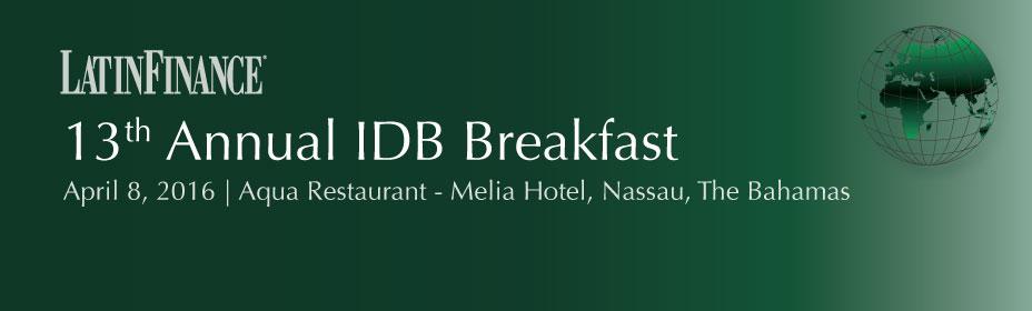 13th Annual IDB Breakfast
