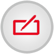 Registration Icon - Red