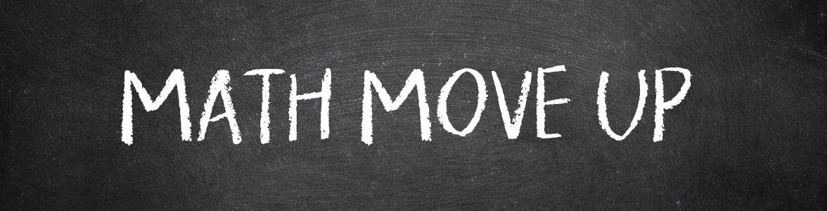 Summer Math Move UP 10