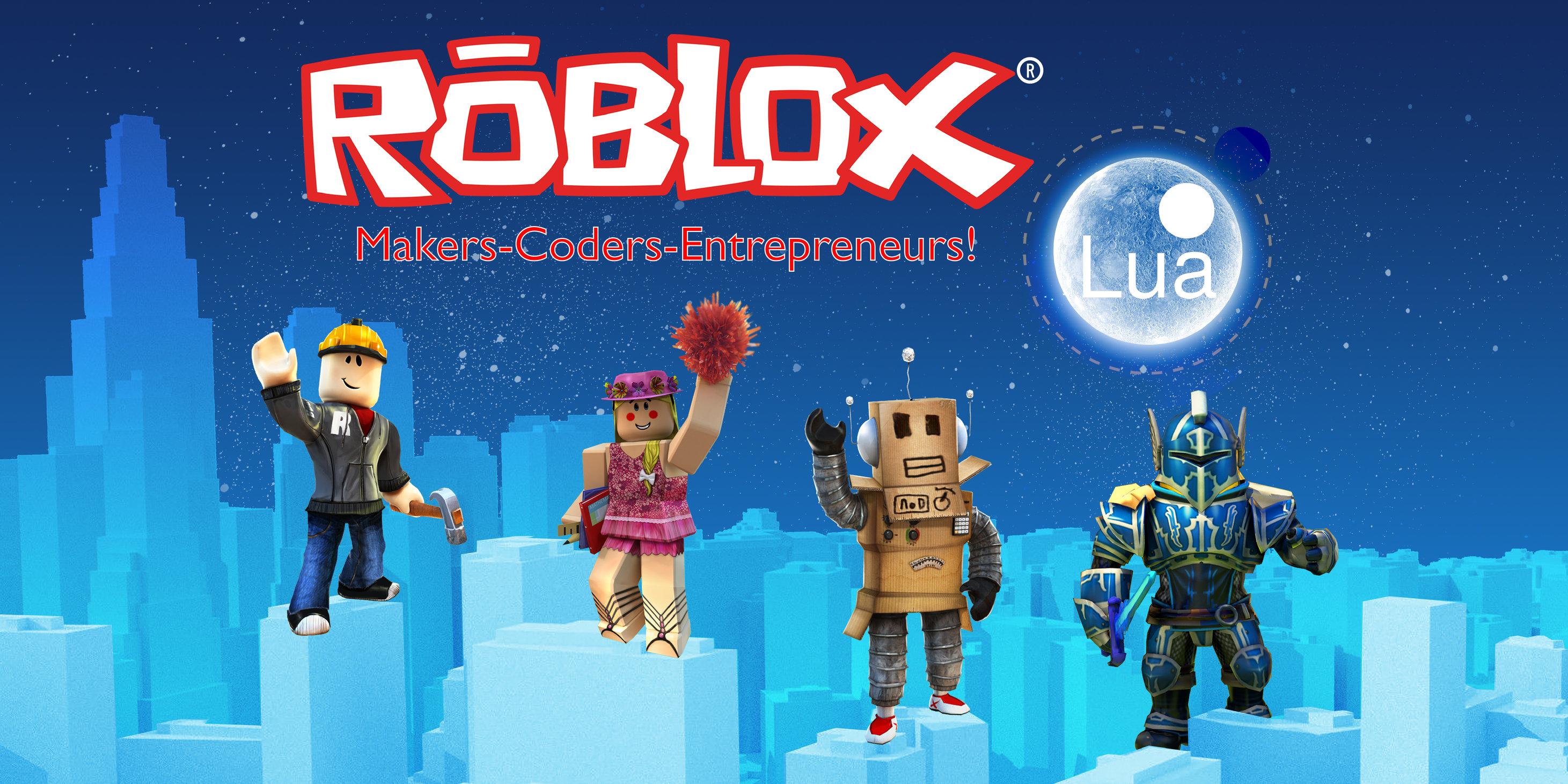 Roblox Makers-Coders-Entrepreneurs