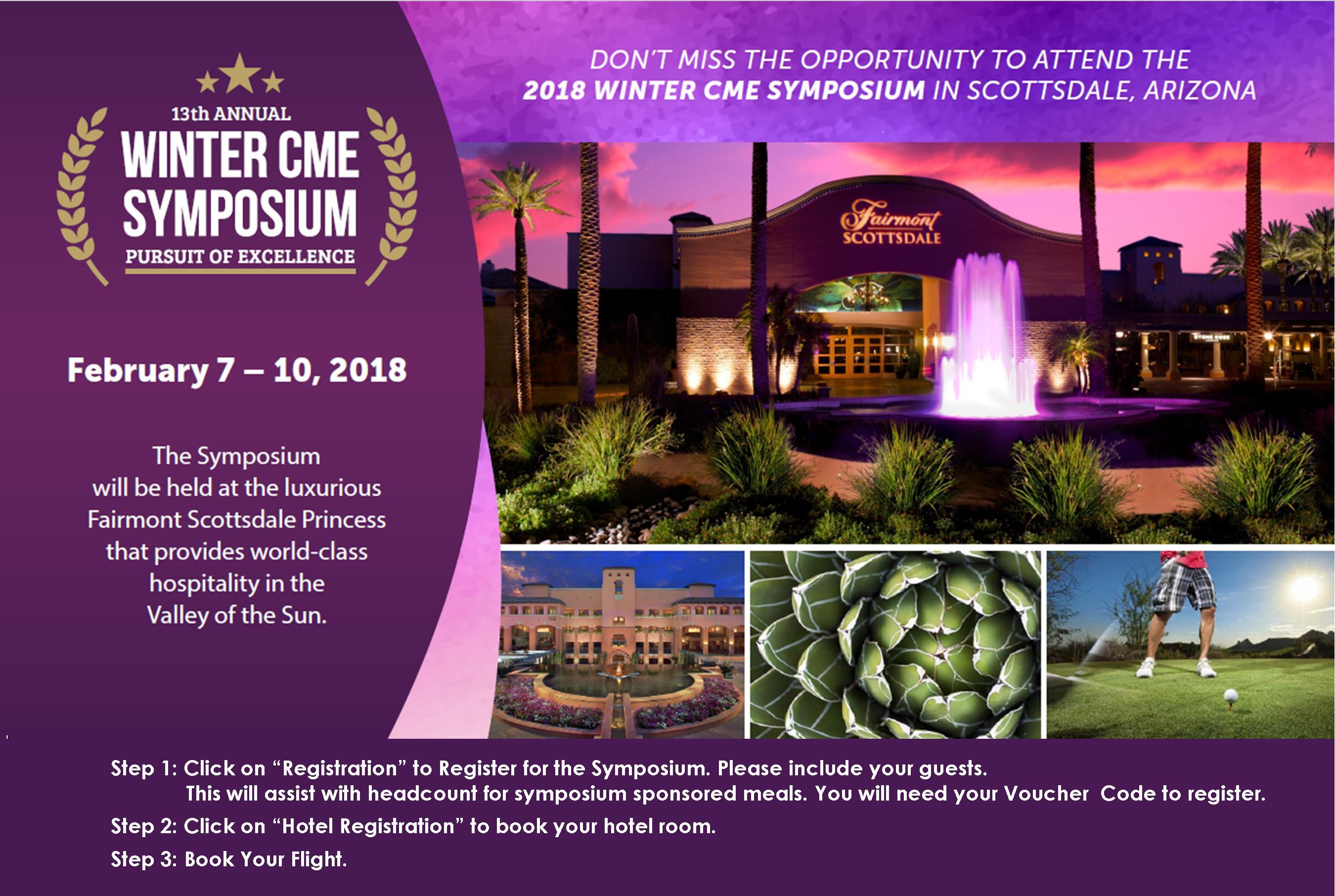 13th Annual Winter CME Symposium