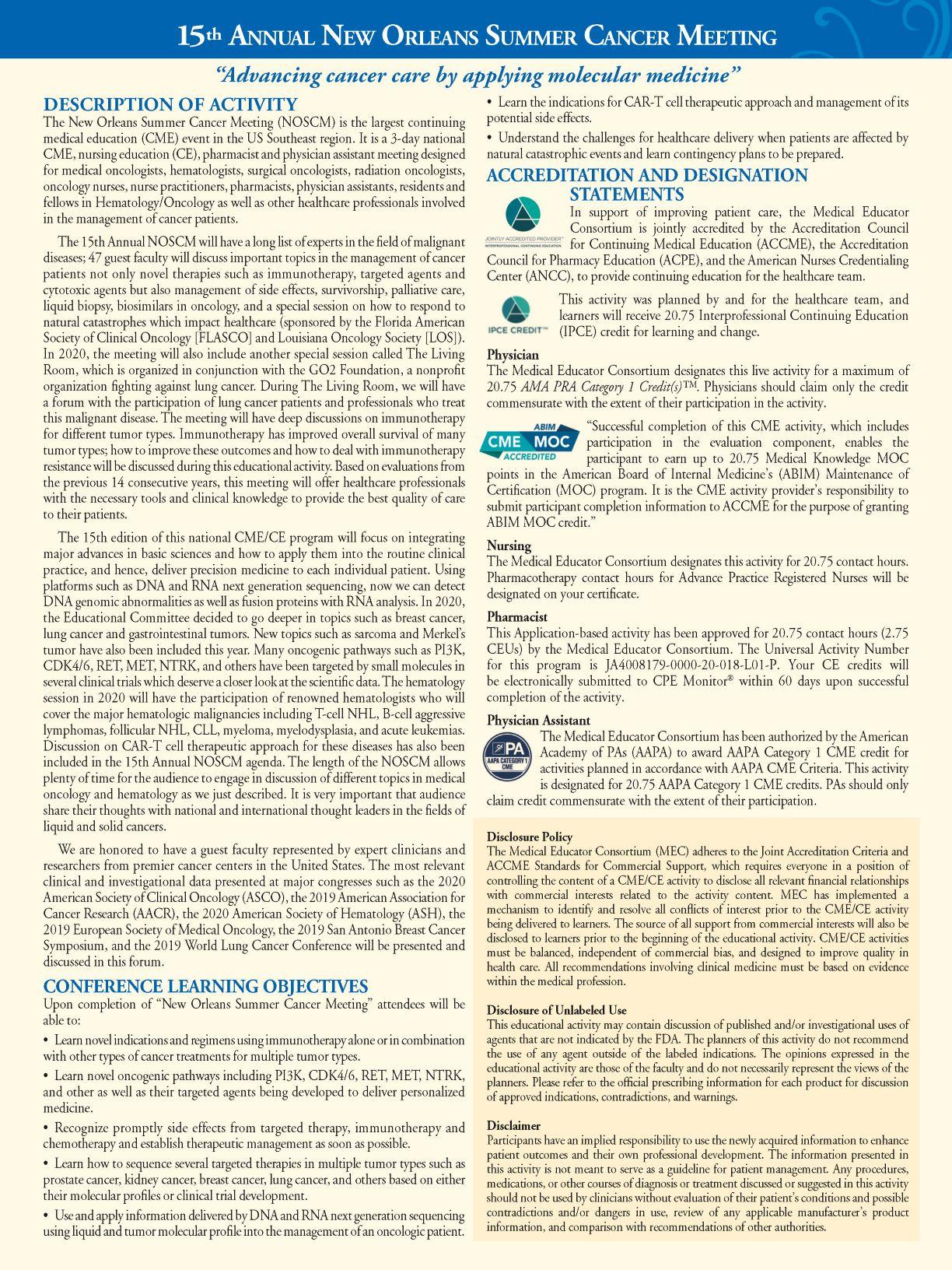 122965 - NOLA 2020 Brochure- Description&Objectives copy