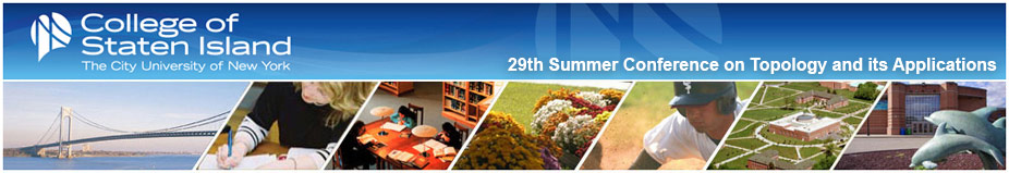 29th Summer Conference on Topology and its Applications