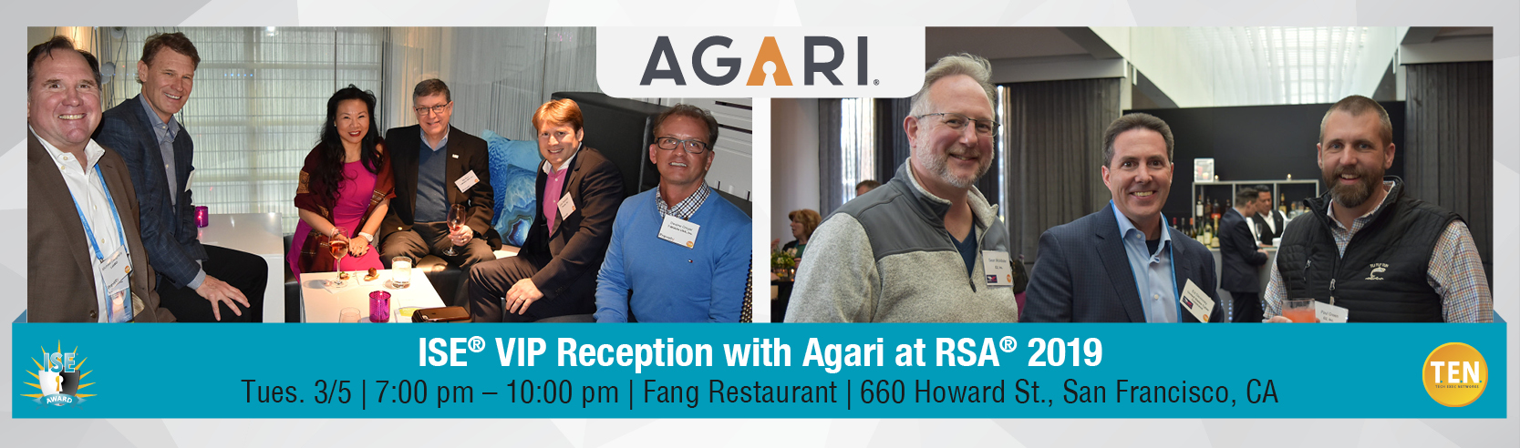 ISE® VIP Reception with Agari