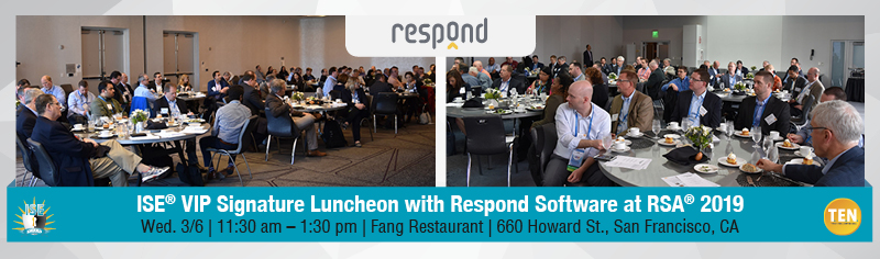 ISE® VIP Signature Luncheon with Respond Software