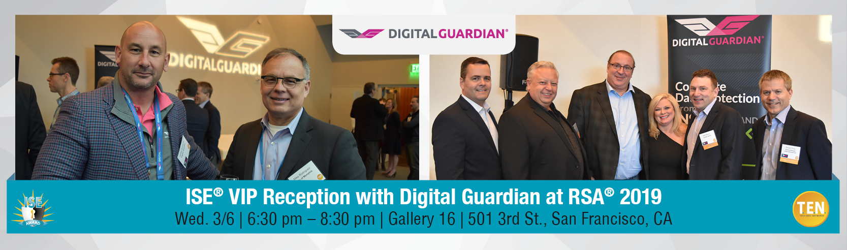ISE® VIP Reception with Digital Guardian
