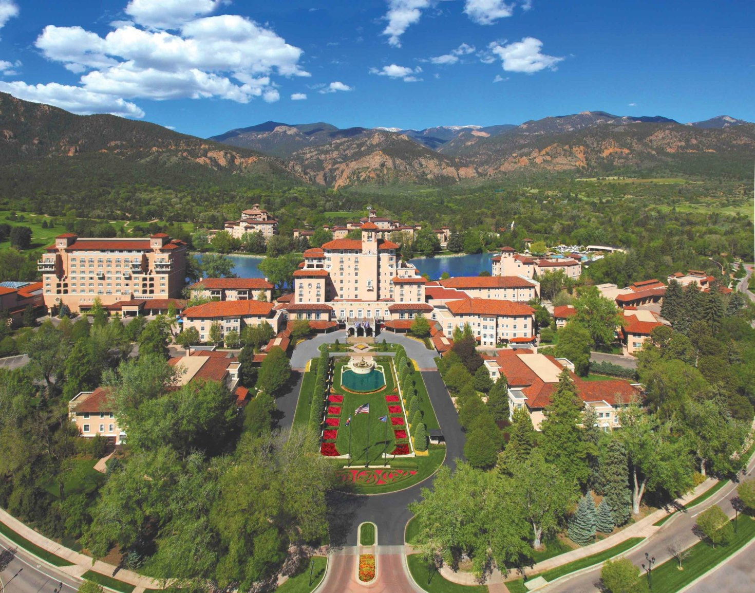 The Broadmoor Aerial Photo