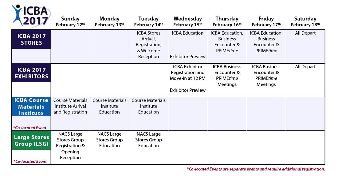 ICBA 2017 Preliminary Agenda - 8.10.16 v2