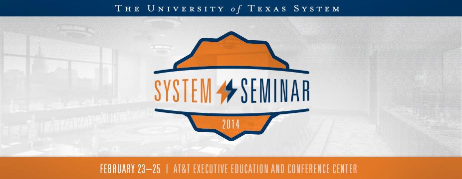 UT System Seminar 2014