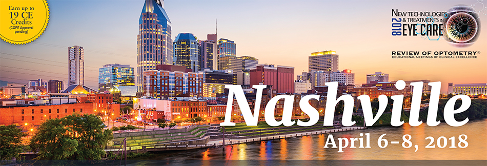2018 New Technologies & Treatments in Eye Care: Nashville
