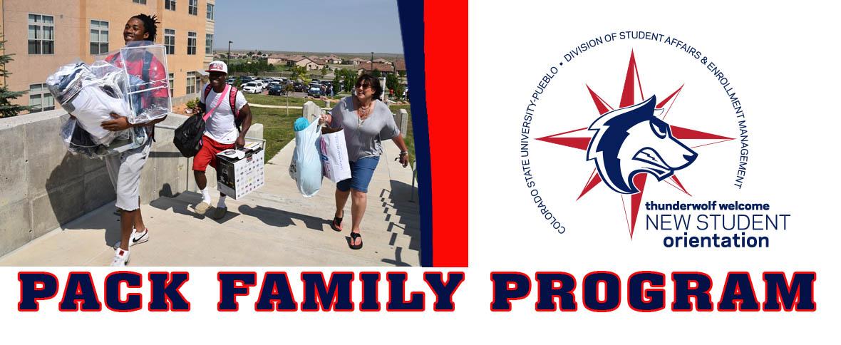 JULY 28 - CSU-Pueblo Pack Family Orientation