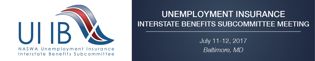 Unemployment Insurance Interstate Benefits Subcommittee Meeting (July 2017)