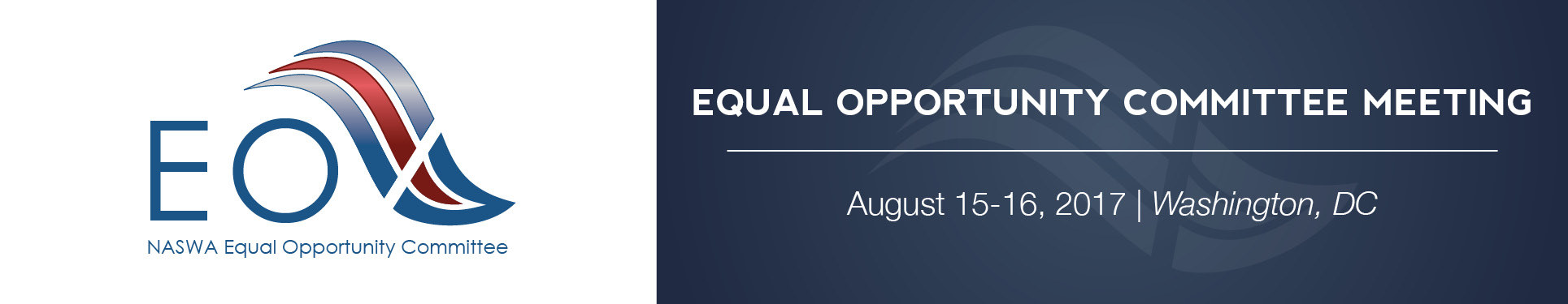 Equal Opportunity Committee Meeting (Aug 2017)
