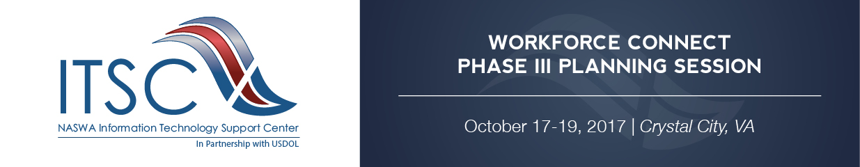 Workforce Connect Phase III Planning Session (Oct. 2017)
