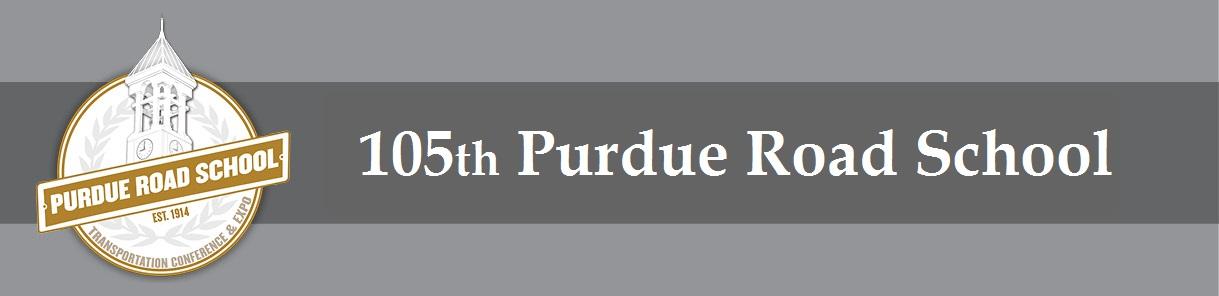 105th Annual Purdue Road School